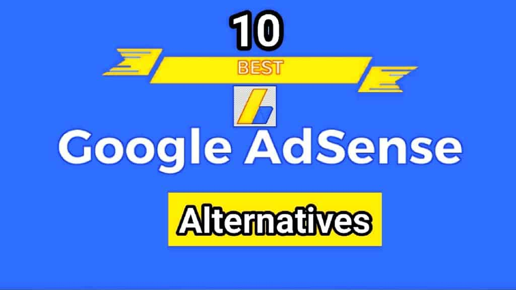 google adsense alternatives 1