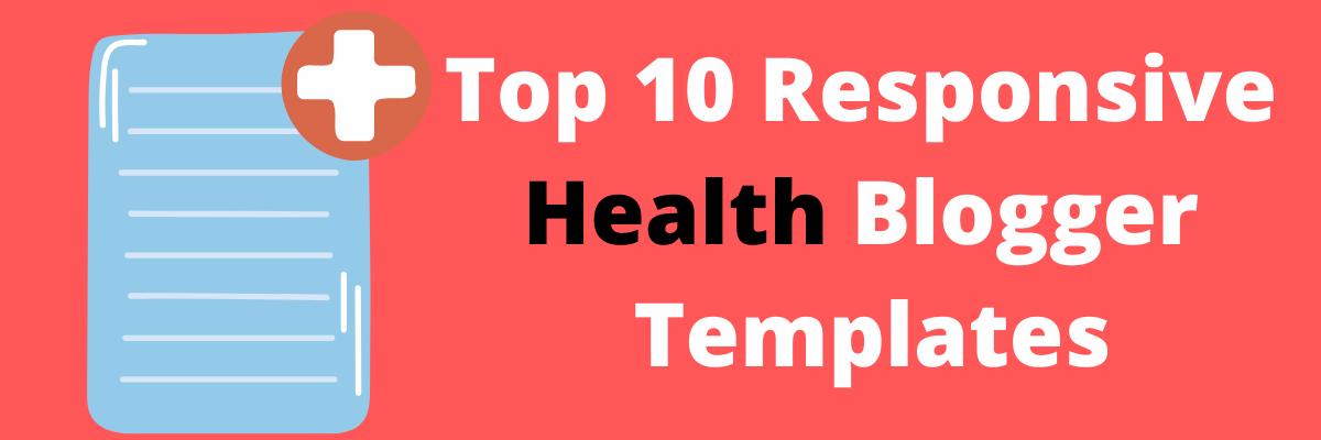 Health Blogger Template