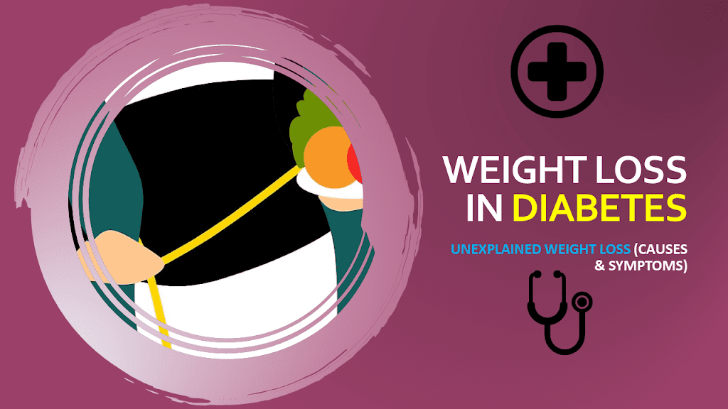 Weight Loss in Diabetes – Unexplained Weight Loss (Causes & Symptoms)