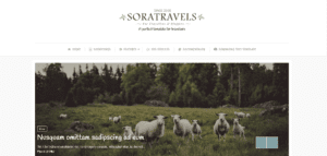 free responsive travel blogger templates
