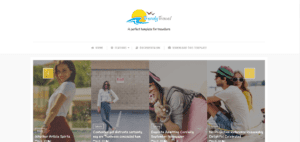 free responsive travel blogger templates