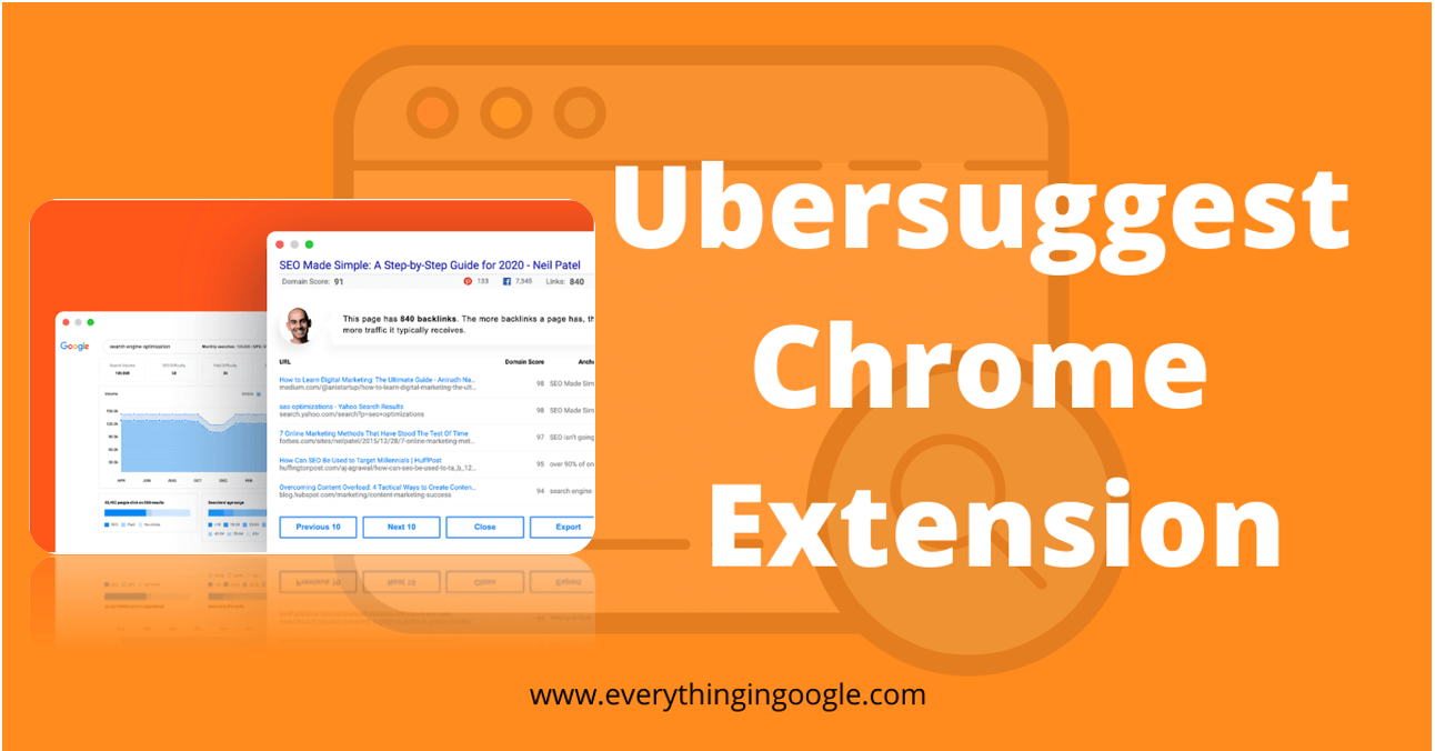 Ubersuggest chrome extension 2 1