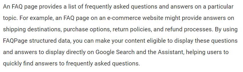 FAQ Schema
