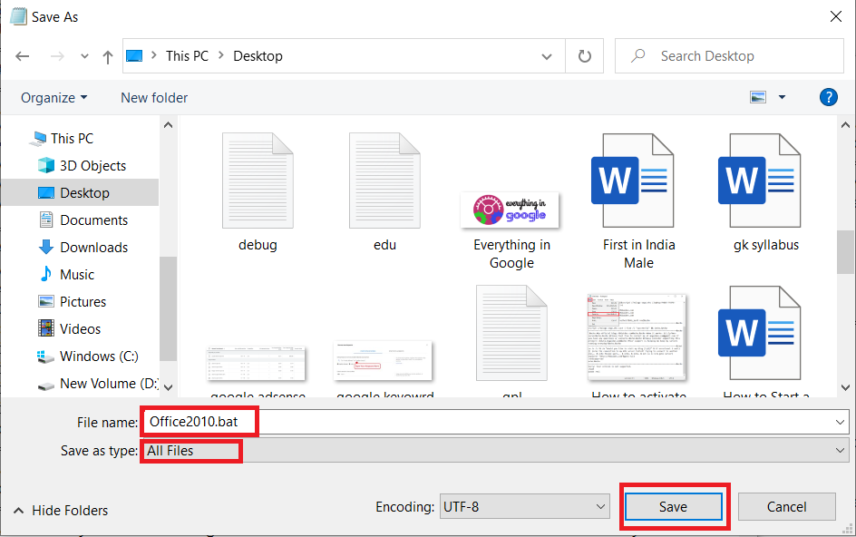 Activate MS Office 2010 Without Product Key