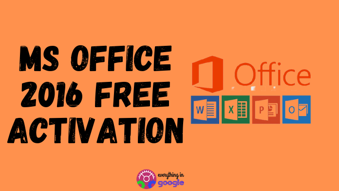 How To Activate MS Office 2016 Without Any Product Key | Free Activation of MS Office 2016