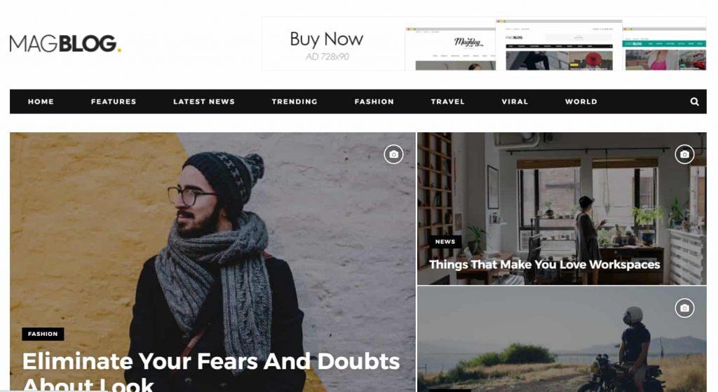 MagBlog News & Editorial Magazine Blogger Theme