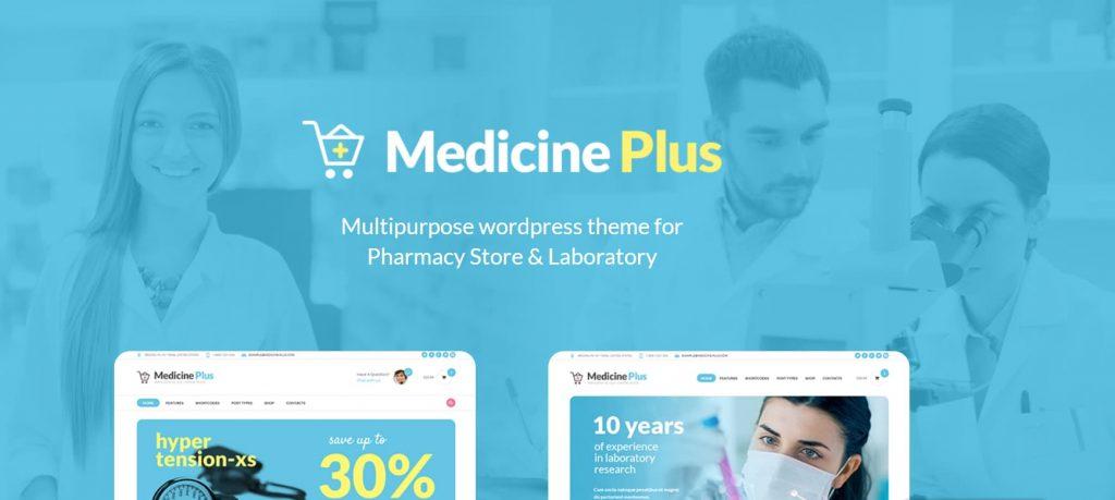 wp pharmacy theme