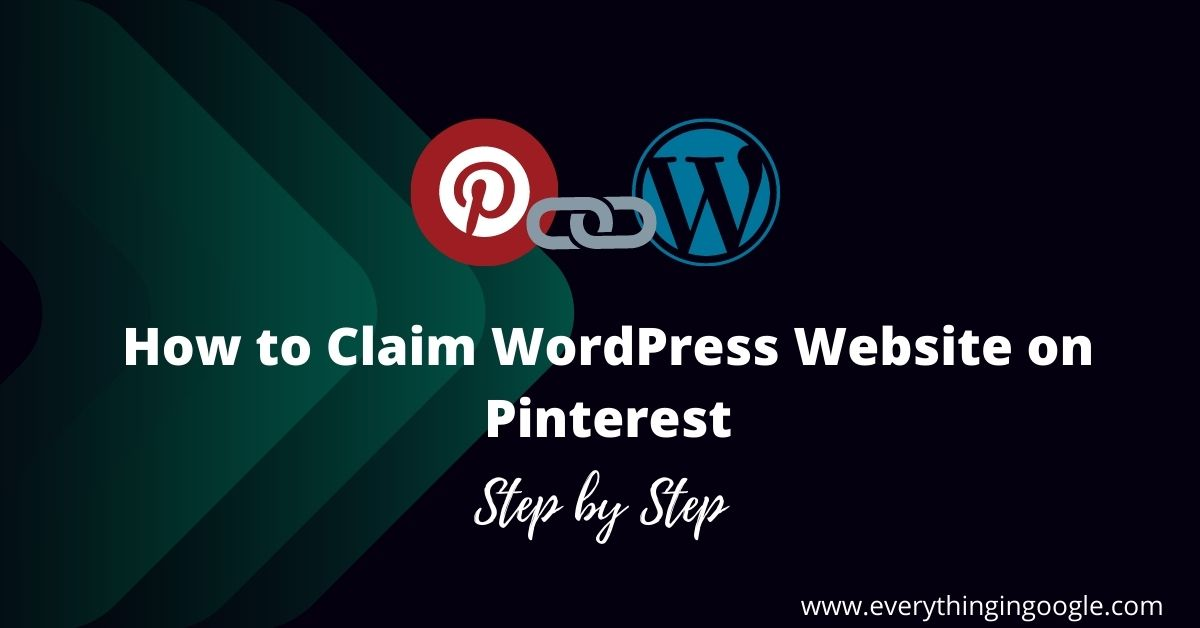 How to Claim WordPress Website on Pinterest (Step by Step Guide)