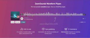 Best Sticky Wave Audio Player WordPress Plugin 2021 - ZoomSounds
