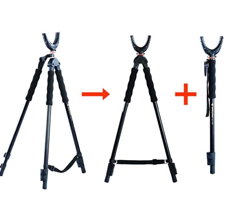 Best Tripod Shooting Sticks for Coyote Hunting - Vanguard Quest
