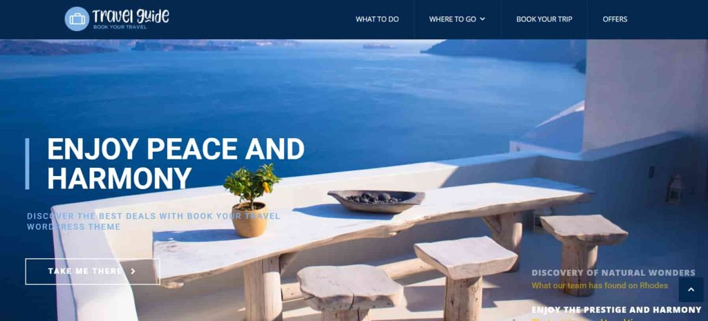Book Your Travel Best WordPress Themes for Travel Blogs