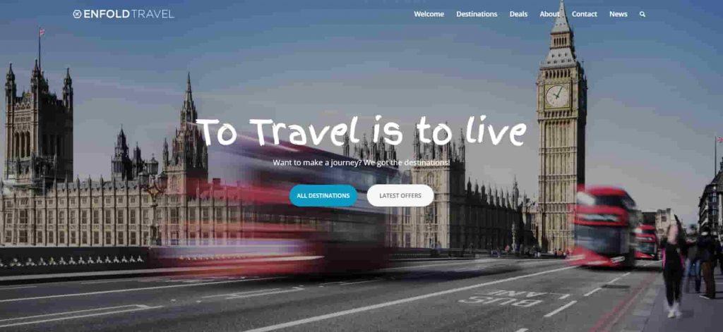 Enfold Responsive Travel Blog WordPress Theme