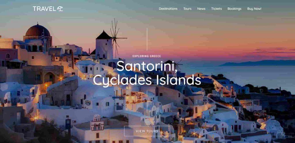 Kalium Travel Portal WordPress Theme