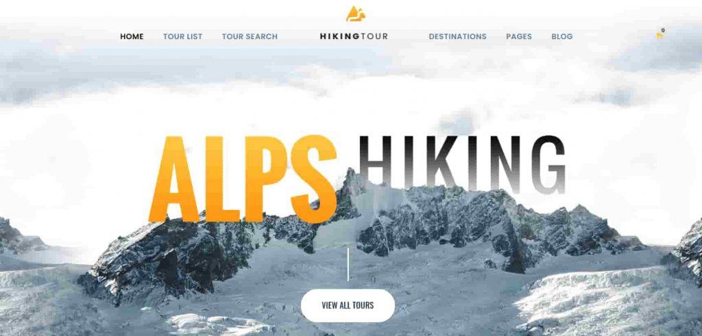 Responsive Travel Tour WordPress Theme