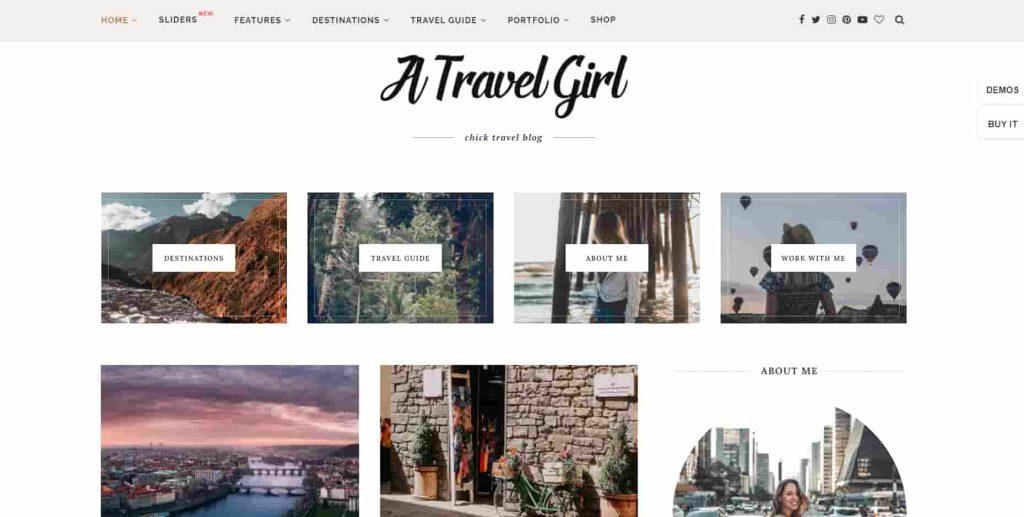 Soledad Travel Blog Post Template Theme