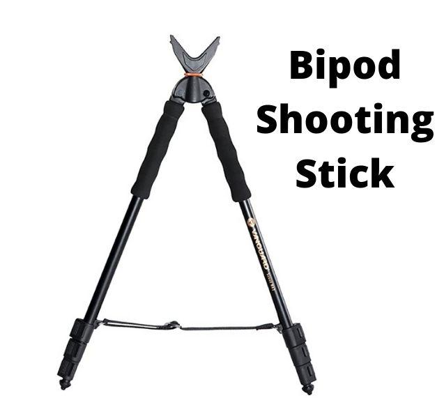 Bipod shooting stick
