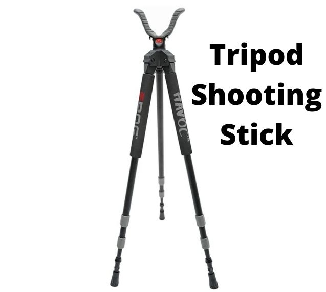 Tripod shooting stick