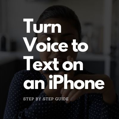 Turn Voice to Text on an iPhone